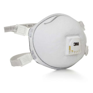 3M 8212 Particulate Welding Respirator 8212, N95, with Faceseal 80 EA/Case