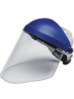 3M 82783-00000 3M™ Combination H8A Ratchet Headgear and WP96 Polycarbonate Faceshield, Clear