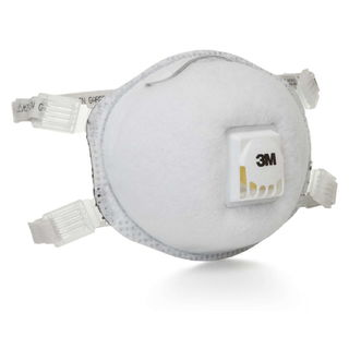 3M 8514 Particulate Respirator 8514, N95, with Nuisance Level Organic Vapor Relief  80/cs