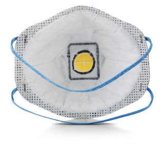 3M 8576 Particulate Respirator 8576, P95, with Nuisance Level Acid Gas Relief  80/Case