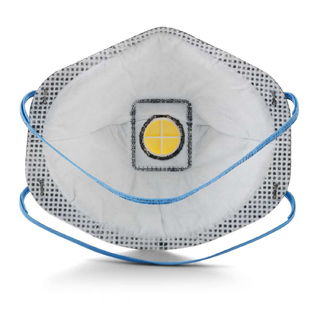 3M 8577 Particulate Respirator 8577, P95, with Nuisance Level Organic Vapor Relief 80 EA/Case