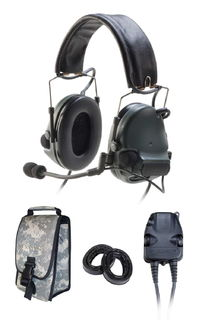3M 88061-00000 PELTOR™ ComTac™ III ACH Communication Headset, 88061-00000 1 EA/Case