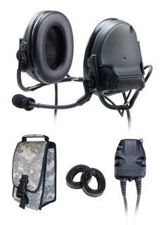 3M 88061-B PELTOR™ ComTac™ III ACH Communication Headset, 88061-B 1 EA/Case