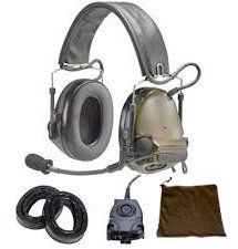 3M 88062-00000 PELTOR™ ComTac™ III ACH Communication Headset, 88062-00000 1 EA/Case