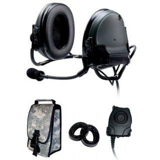3M 88062-B PELTOR™ ComTac™ III ACH Communication Headset, 88062-B 1 EA/Case
