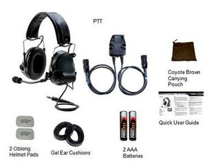 3M 88064-00000 PELTOR™ ComTac™ III ACH Communication Headset, 88064-00000 1 EA/Case