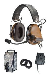 3M 88078-B PELTOR™ ComTac™ III ACH Communication Headset, 88078-B 1 EA/Case
