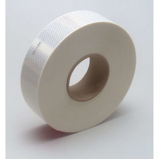 3M 983-10 Diamond Grade™ Conspicuity Marking Roll 983-10 White, 2 in x 150 ft