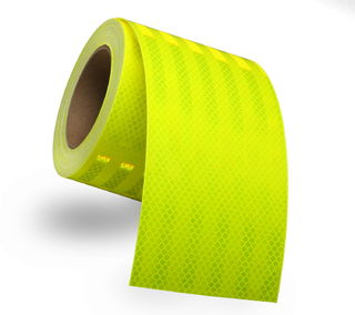 3M 983-23 Diamond Grade™ Conspicuity Marking 983-23 ES Fluorescent Yellow-Green, 6 in x 150 ft