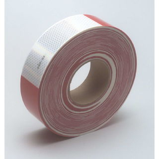 3M 983-326 Diamond Grade™ Conspicuity Marking Roll 983-326 (PN67535) Red/White, 2 in x 150 ft