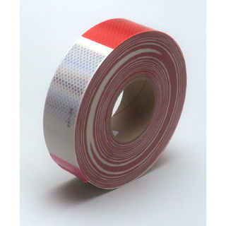 3M 983-32 Diamond Grade™ Conspicuity Marking Roll 983-32 (PN67533) Red/White, 2 in x 150 ft