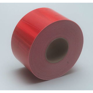 3M 983-72 ES Diamond Grade™ Conspicuity Marking Roll 983-72 ES Red, 4 in x 150 ft