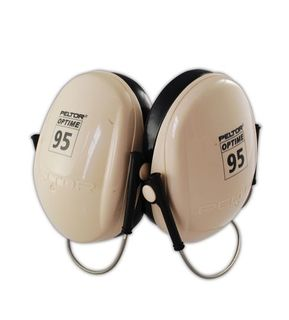 3M H6B/V 3M™ Peltor Optime 95 Neckband Earmuff (Behind the Head)