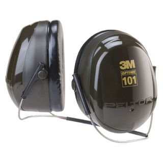 3M H7B PELTOR™ Optime™ 101 Behind-the-Head Earmuffs H7B, 10 EA/Case