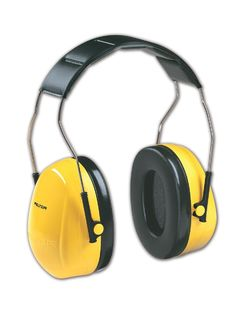 3M H9A 3M™ Peltor Optime 98 Non-Electronic Muffs, Yellow