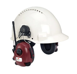 3M M2RX7P3E2-01 PELTOR™ ALERT™ FM-radio headset hard hat attached M2RX7P3E2-01