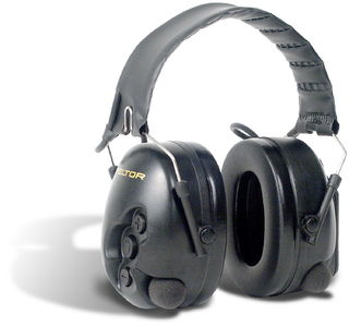 3M MT15H7A-07 SV TacticalPRO™ Electronic Headset with Boom Mic, Black Cups, NRR 26dB  MT15H7A-