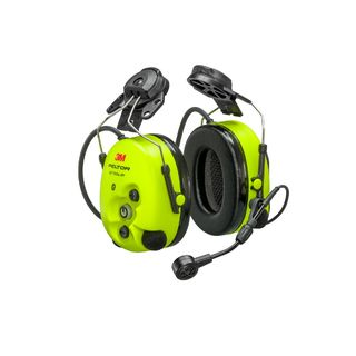 PELTOR™ WS™ ProTac XPI Headset, Hard Hat Mount, MT15H7P3EWS6, 1 EA/CS