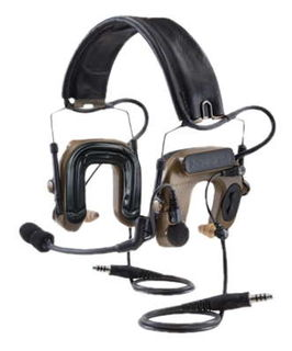 3M MT16H044FB-19 CY PELTOR™ COMTAC™ IV Hybrid Communication Headset, Dual Comm, Flexi Bo