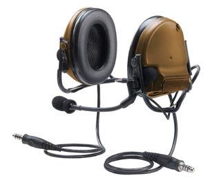 3M MT17H682BB-19 CY PELTOR™ COMTAC™ III ACH Communication Headset, Dual COMM, Neckband,