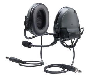 3M MT17H682BB-19 FG PELTOR™ COMTAC™ III ACH Communication Headset, Dual COMM, Neck Band,