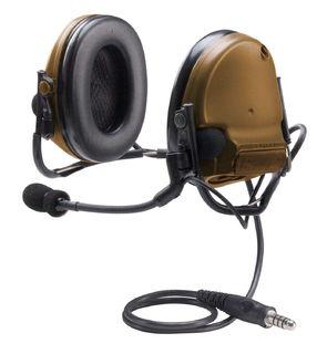 3M MT17H682BB-47 CY PELTOR™ COMTAC™ III ACH Communication Headset, Single COMM, Neck Ban