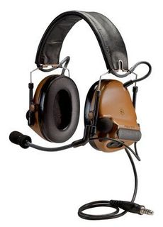 3M MT17H682FB-49 CY PELTOR™ ComTac™ ACH Communication Headset MT17H682FB-49 CY, Dual Com