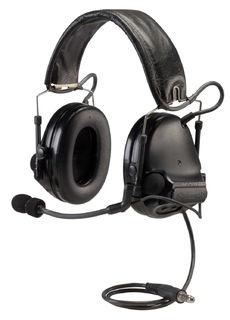 3M MT17H682FB-49 SV PELTOR™ COMTAC™ ACH Communication Headset, Dual COMM, Single Downlea