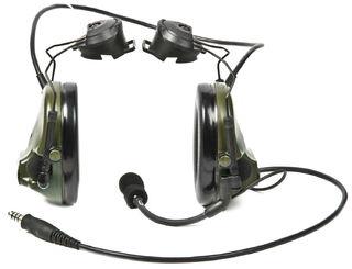 3M MT17H682P3AD-49 FG Peltor™ ComTac ACH ARC Communication Headset MT17H682P3AD-49 FG, Dual Co