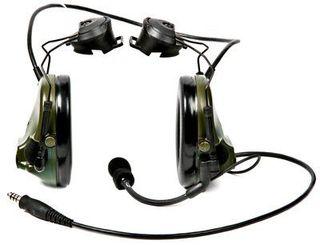 3M MT17H682P3AD-49 GN Peltor™ ComTac ACH ARC Communication Headset MT17H682P3AD-49 GN, Dual Co