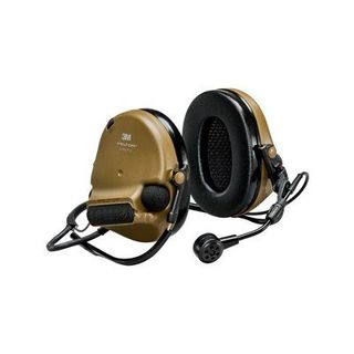 3M MT20H682BB-09 CY PELTOR™ ComTac™ V Hearing Defender headset, neckband, coyote brown,