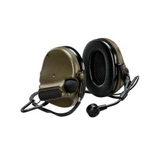 3M MT20H682BB-09 GN PELTOR™ ComTac™ V Hearing Defender headset, neckband green, MT20H682