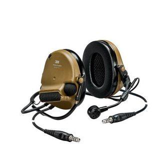 3M MT20H682BB-19 GN PELTOR™ ComTac™ V headset, neckband, DL, standard dynamic mic, NATO