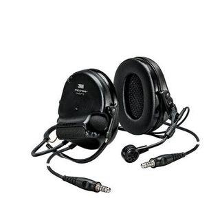 3M MT20H682BB-19 SV PELTOR™ SwatTac™ V headset, neckband, dual lead, standard dynamic mi