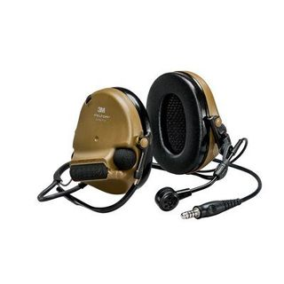 3M MT20H682BB-47 CY PELTOR™ ComTac™ V headset, neckband, single lead, standard dynamic m
