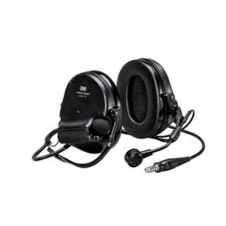 3M MT20H682BB-47 SV PELTOR™ SwatTac™ V headset, neckband, single lead, standard dynamic
