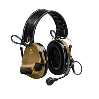 3M MT20H682FB-09 CY PELTOR™ ComTac™ V Hearing Defender headset, foldable, Coyote brown,