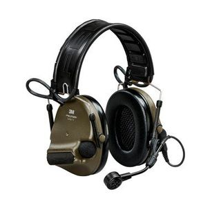 3M MT20H682FB-09 GN PELTOR™ ComTac™ V Hearing Defender headset, foldable, green, MT20H68