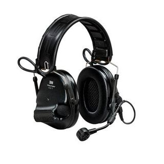 3M MT20H682FB-09 SV PELTOR™ SwatTac™ V  Hearing Defender headset, foldable, Black, MT20H