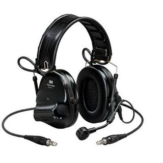 3M MT20H682FB-19 SV PELTOR™ SwatTac™ V headset, foldable, dual lead, standard dynamic mi