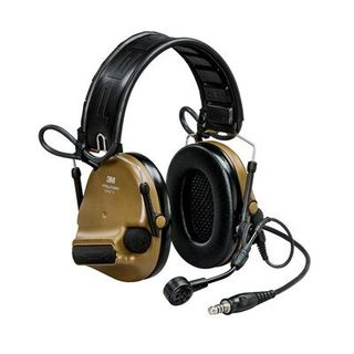 3M MT20H682FB-47 CY PELTOR™ ComTac™ V headset, foldable, single lead, standard dynamic m