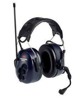 3M MT53H7A4600-NA PELTOR™ Lite Com BRS 2-Way Radio Headset MT53H7A4600-NA, Headband, 1 EA/Case