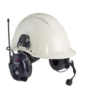3M MT53H7A4602-NA PELTOR™ LiteCom FRS Headset, Hard Hat Attached, MT53H7P3E4602-NA, 1 EA/CS