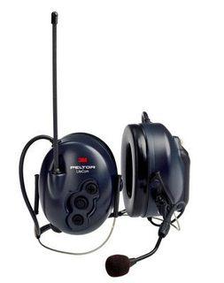 3M MT53H7B4600-NA PELTOR™ Lite Com BRS 2-Way Radio Headset MT53H7B4600-NA, Neckband, 1 EA/Case