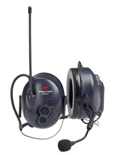 3M MT53H7P3E4602-NA PELTOR™ LiteCom FRS Headset, Neckband, MT53H7B4602-NA, 1 EA/CS