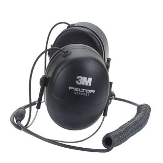3M MT7H79B PELTOR™ MT™ Series Behind-the-Neck Headset MT7H79B, Two-Way Communications He