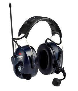 3M MT7H7A4610-NA PELTOR™ Lite Com Plus 2-Way Radio Headset MT7H7A4610-NA, Headband, 1 EA/Case