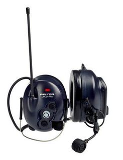 3M MT7H7B4610-NA PELTOR™ Lite Com Plus 2-Way Radio Headset MT7H7B4610-NA, Neckband, 1 EA/Case