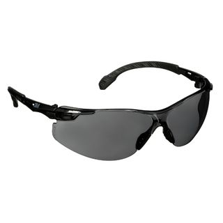 Solus™ 1000 Series, S1502SGAF, Black Temples, Scotchgard™ Anti-Fog Coating, Gray AF-AS lens, 20ea/cs