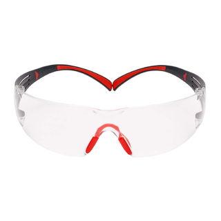 SecureFit™ SF401SGAF-RED, Red/Gray, Clear Scotchgard™ Anti-fog lens, 20ea/cs